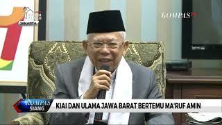 Download Video Kiai dan Ulama Jawa Barat Bertemu Ma'ruf Amin MP3 3GP MP4