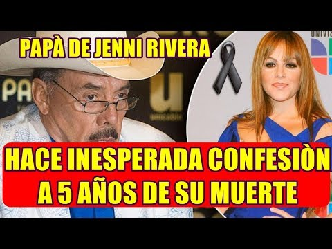 PAPÀ de JENNI RIVERA hace INESPERADA CONFESION a CINCO AÑOS de su PARTIDA