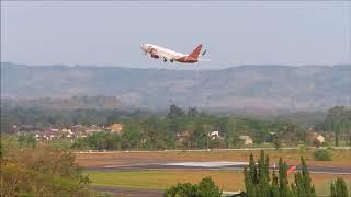 Take Off Jogja, Lion Air, Garuda,Sriwijaya Air,Batik Air,Nam Air,Air Asia dan Citilink Indonesia