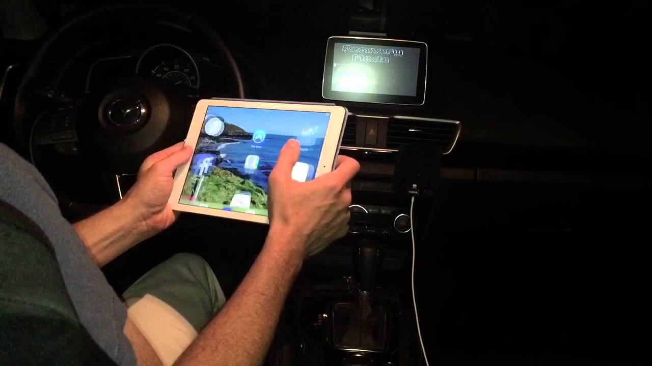 Mazda Infotainment Wifi recovery mode hack