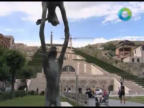 What Is The Yerevan Cascade Famous For?