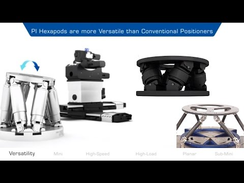 Hexapod Systems Overview: 6-Axis Platforms for Motion & Positioning, Multi-Axis Automation www.pi.ws