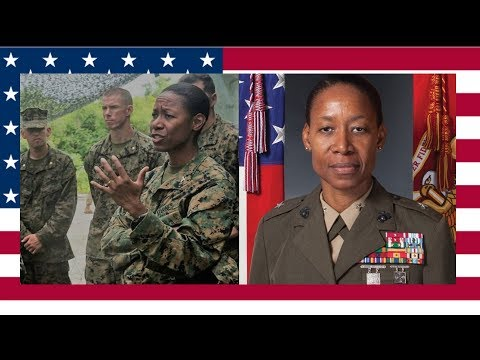 1st Marine Black Woman selected by Donald Trump for brigadie