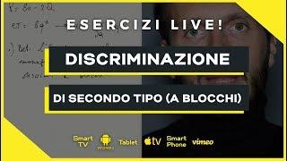 Discriminazione secondo tipo (Tariffa a blocchi) | Microeconomia (Economia Politica) | Esercizio