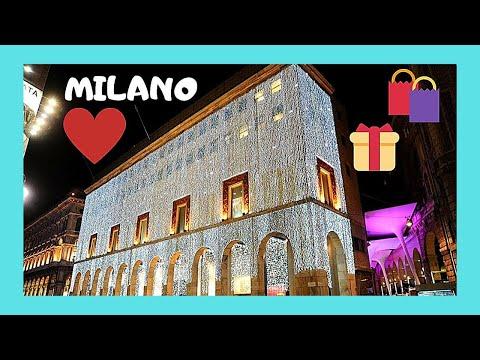 The luxurious La Rinascente shopping centre, Milan (Italy)