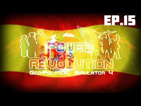 Geopolitical Simulator 4 FR (Power & Révolution) ESPAGNE S02 EP.15: Bombe nucléaire sur Paris !