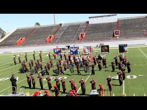 """2012 Lanier County High School Marching Band """"Super Mario""""; Lowndes Battle on the Border"""