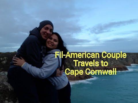 Fil-Am Couples Travel | United Kingdom | Cape Cornwall