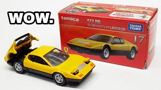 Check THIS Out! - Ferrari 512 BB Tomica Premium Review