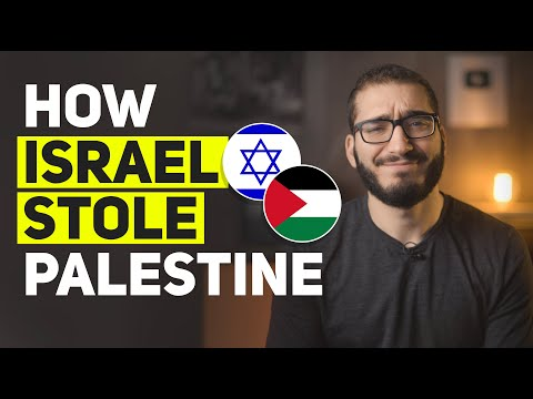 How Israel STOLE Palestine