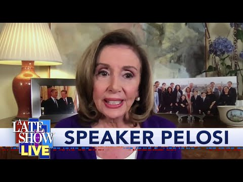 A Late Show Exclusive: Joe Biden Isn't A Trojan Horse For Speaker Nancy Pelosi