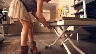 7 Folding Table You MUST HAVE | Great Space Saving Ideas - Smart Furniture #3