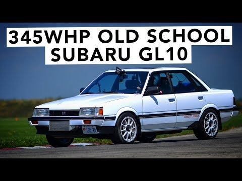 It's A Death Trap! EJ Swapped Subaru GL10 Track Review