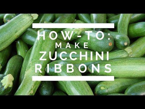 How-To: Make Zucchini Ribbons