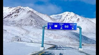 Hunza Valley Blanketed in Snow
