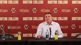 Men's Basketball: Fairfield Postgame Press Conference (Dec. 12, 2018)
