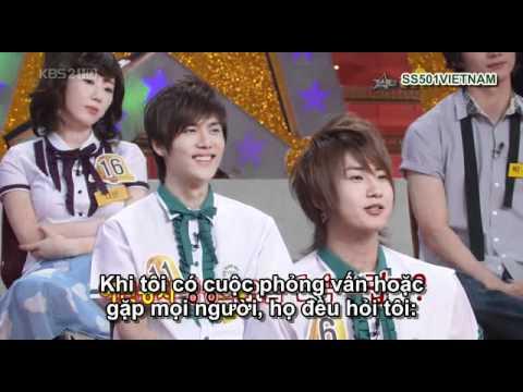 [Vietsub] SS501 - 080517 KBS Star Golden Bell Cut