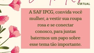 ENCONTRO ROSA - 10/10/2020