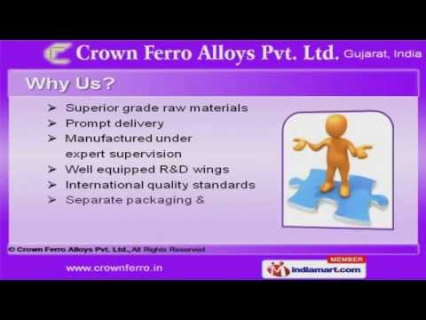 Metal Powders by Crown Ferro Alloys Pvt. Ltd. Vadodara