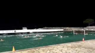 Детский матч по водному поло.Хорватия.