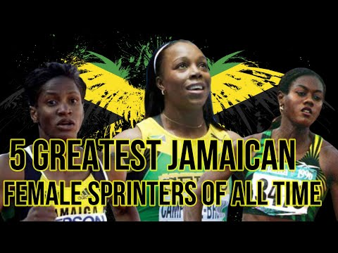 5 Greatest Jamaican Female sprinters of all time!!!