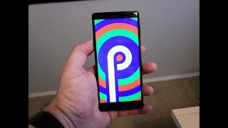 Android P Beta on the Sony Xperia XZ 2