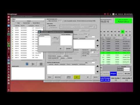 Gerando Listas com Rivendell Radio Automation PT-BR