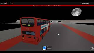 Roblox London Hackney & Limehouse bus Simulator Last Day of Gemini 1 Volvo Route 254 Summer 2017