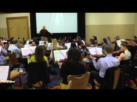 2015 Honor Orchestra of America: First Rehearsals