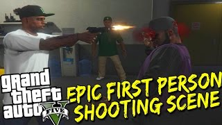 GTA 5 -Epic First Person Shooting Gameplay