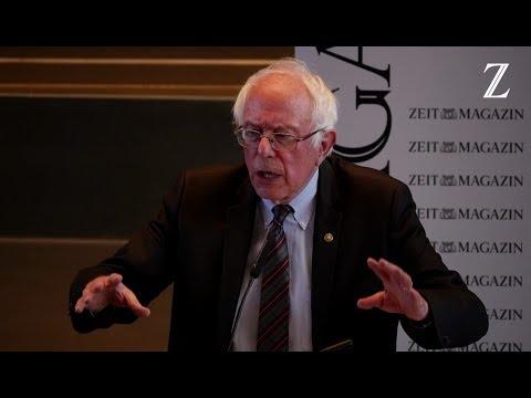 US-Senator Bernie Sanders zu Gast an der Freien Universität - Live-Mitschnitt