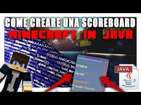 COME CREARE UNA SCOREBOARD IN MINECRAFT | Vita Da Founder