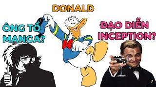 Vịt Donald đạo diễn INCEPTION? Ông tổ của MANGA ?