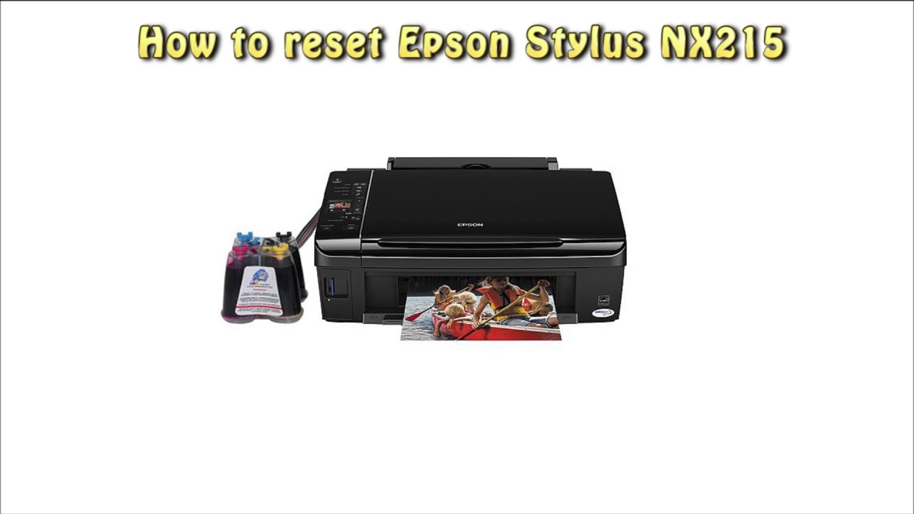 Epson Stylus NX215 Scanner Driver PC