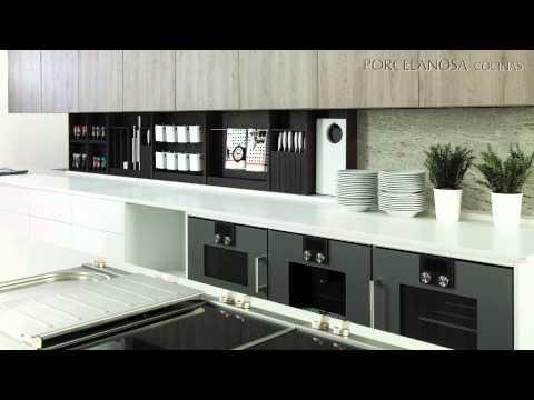 Cocinas gamadecor firma de porcelanosa grupo youtube - Cocinas de porcelanosa ...