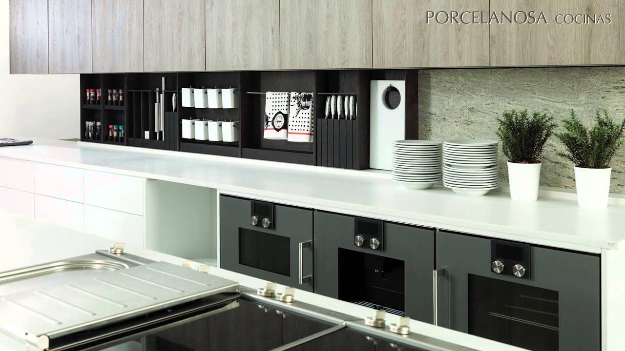 Cocinas gamadecor firma de porcelanosa grupo youtube - Cocinas porcelanosa precios ...