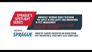 Sprague Spotlight Series – Webinars