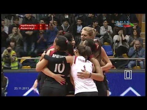 Azerail - Igtisadchi Baku: 23.11.2013 :(Full Match)