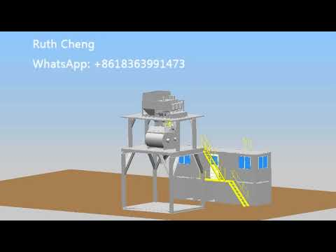 how to build modular concrete batching plant