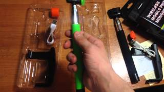 Kjstar- Monopod- Selfie Sticks- With Bluetooth Монопод kjstar z07-5. Монопод для селфи с кнопкой
