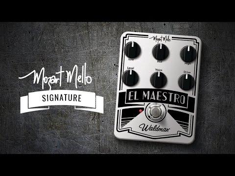 Pedal Waldman El Maestro by Mozart Mello