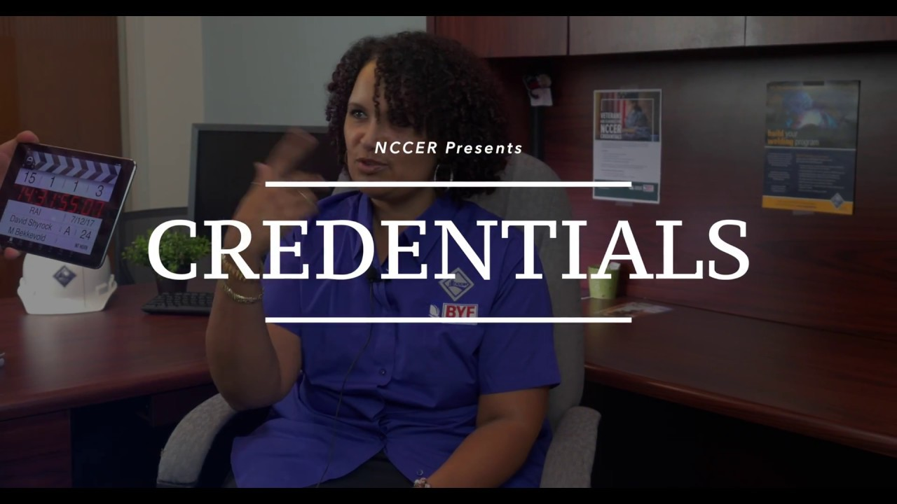 Nccer Credentials Youtube