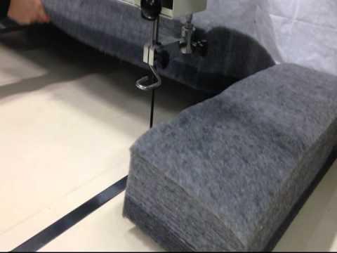 schneiden von flies watte und filz by cuttec gmbh youtube. Black Bedroom Furniture Sets. Home Design Ideas
