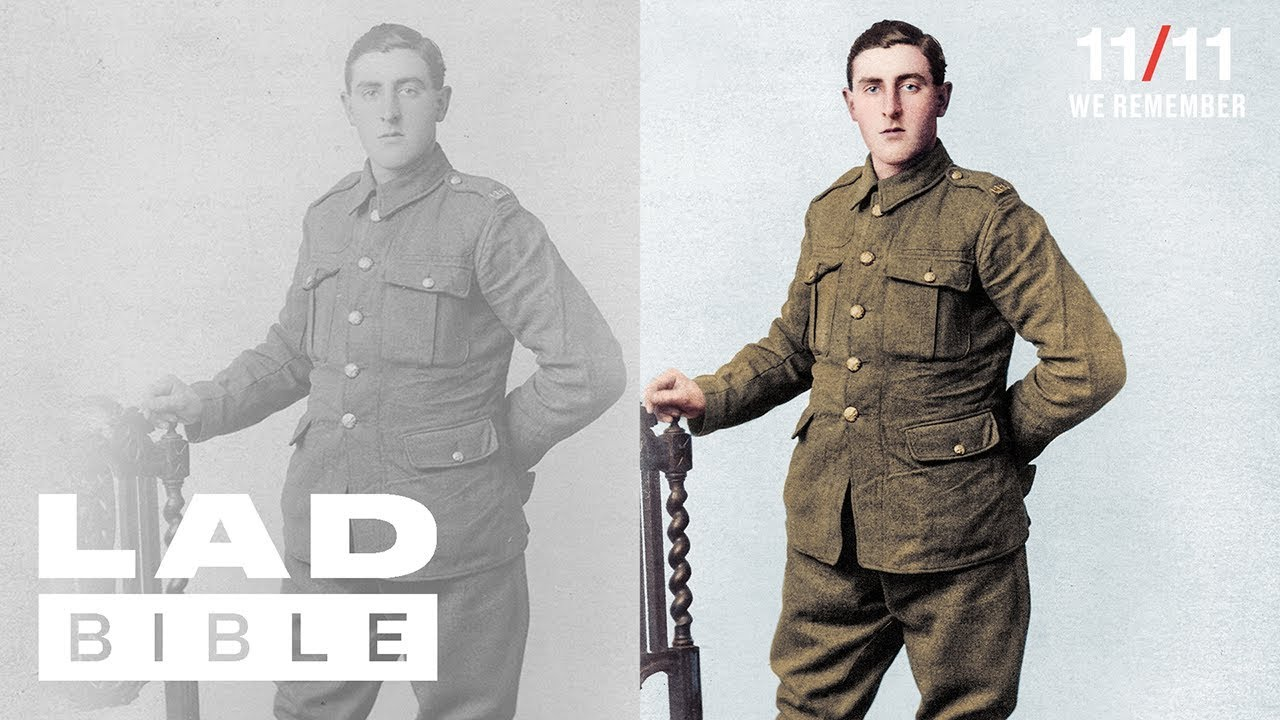 Colourising WW1 Photographs | Remembered In Colour | 11/11