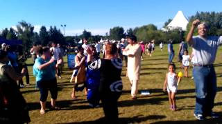 Heritage Festival 2012, Edmonton (Indians and Egyptians dacings together)