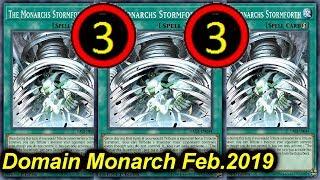 【YGOPRO】DOMAIN MONARCH Deck Feb.2019 - New TCG banlist!!