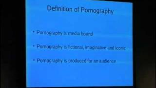 23C3: Pornography and Technology