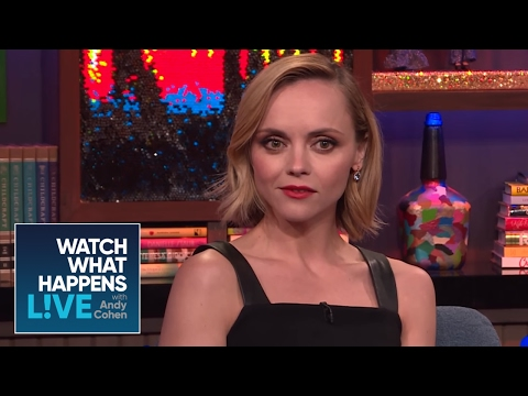 Christina Ricci Knows Why Winona Ryder Made The SAG Win Faces  WWHL