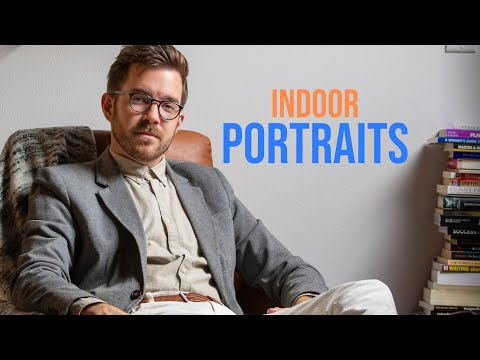 Indoor Portrait Photography For Beginners [Tips For Better Portraits]