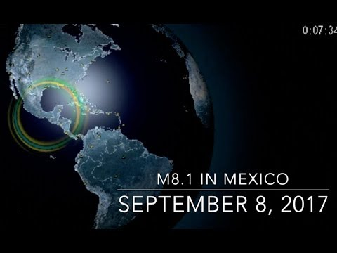 M8.1 Earthquake, Solar Storm Effects | S0 News Sep.8.2017